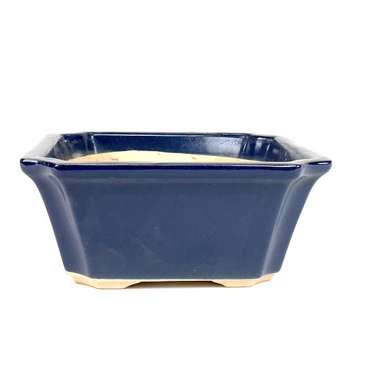 16 x 16 x 7 cm cm bleu Japonaise