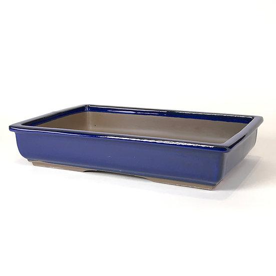 37 x 25 x 7 cm bleu Japonaise