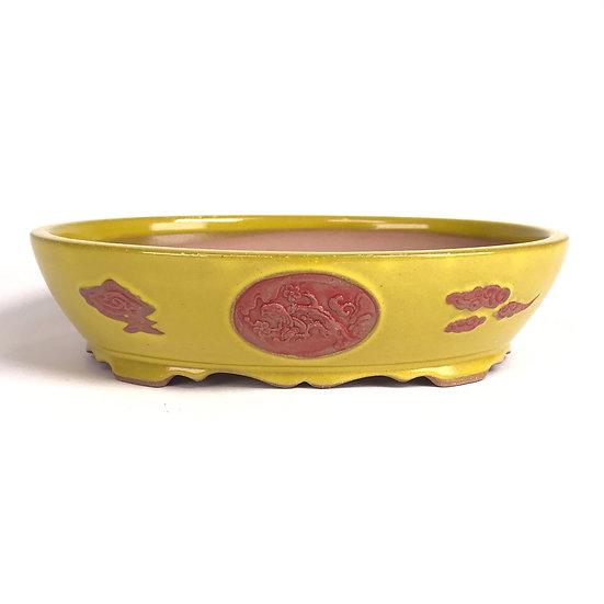 21 x 17 x 5 cm Céramique Yixing finition artisanale