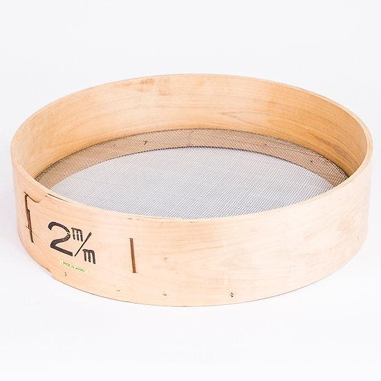 TAMIS bois de 39 cm de diamètre Granulométrie 2mm - Japon