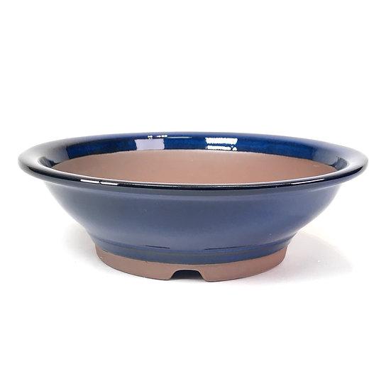 24 x 24 x 7 cm Bleu Japonaise
