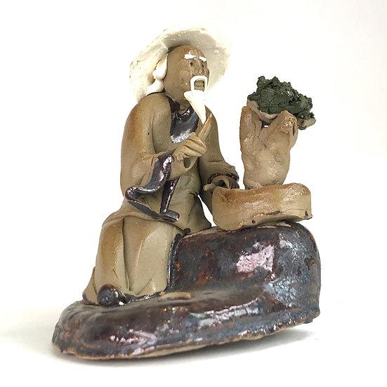 Bonsaika de 6,5 cm de hauteur FIGURINE en terre cuite