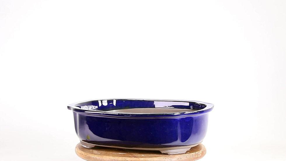 31 x 26 x 9 cm Bleu nuit Japonaise