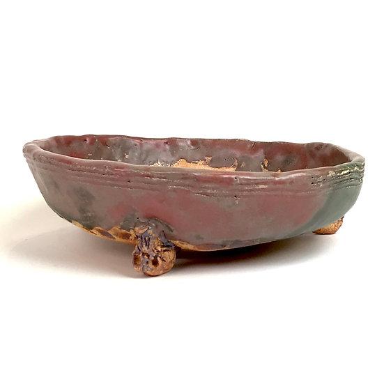 24 x 24 x 6 cm Céramique artisanale unique de Philippe TORCATIS