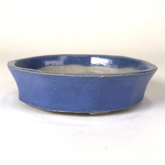 15 x 15 x 4 cm Céramique artisanale unique Bleu