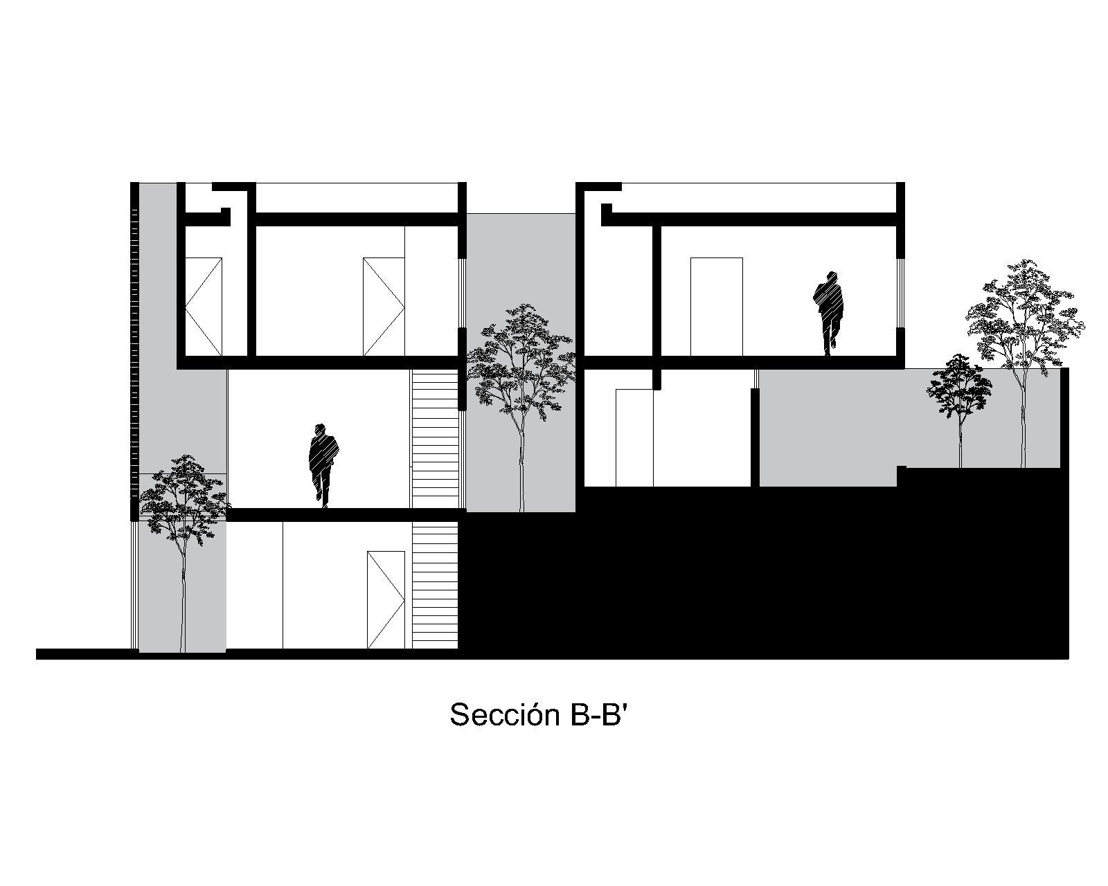 SECCIÓN B-B'