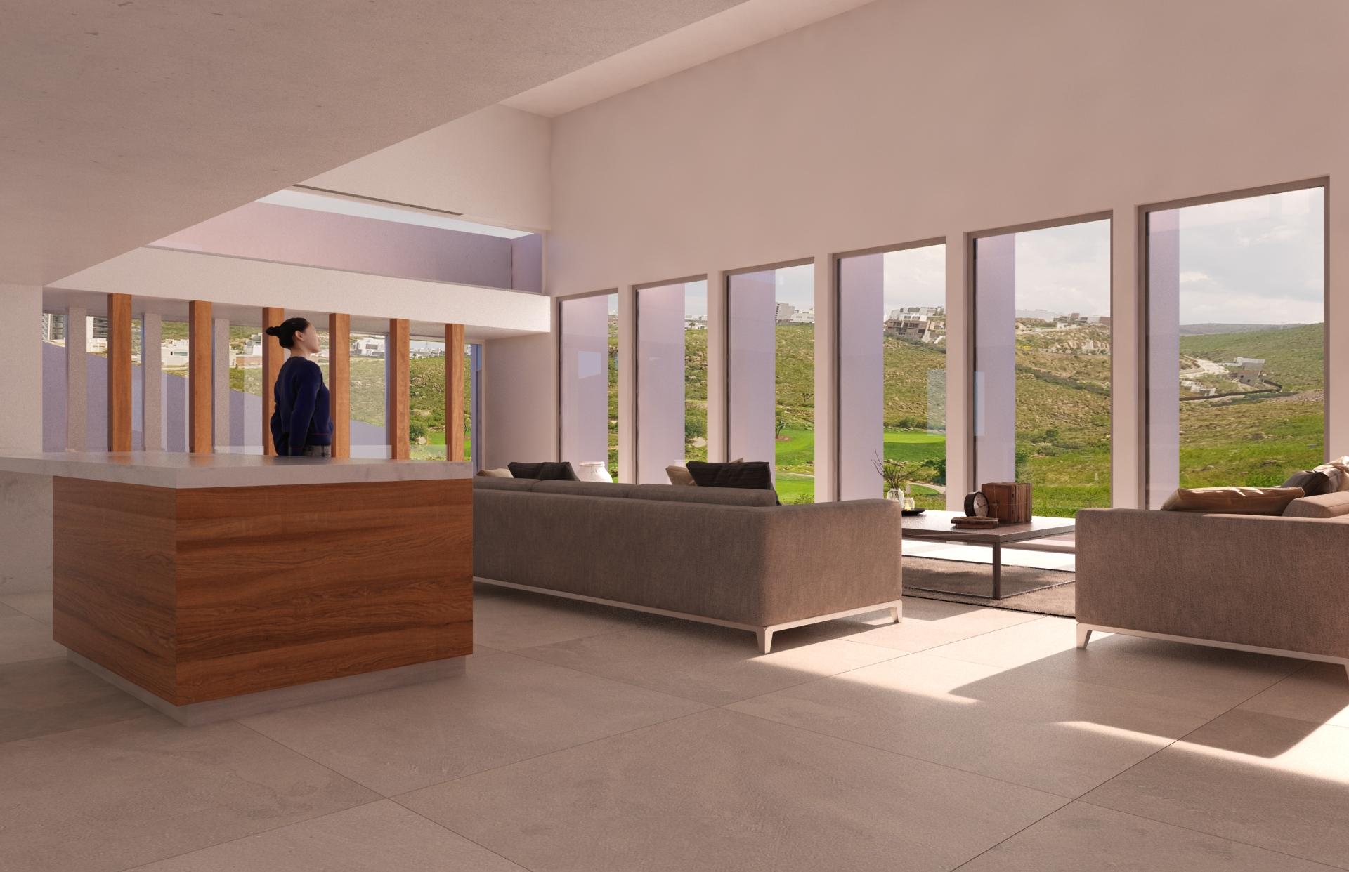 Villa Miradores int 1