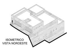 14.-ISOMETRICO VISTA NOROESTE