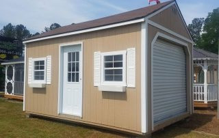 12x16-Portable-Garage-6-12Pitch-Brown-Sh