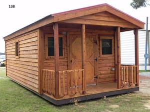 138- Outdoor Options- Cabin, Metal Roof,