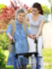 bigstock-Senior-Woman-With-A-Walker-5207