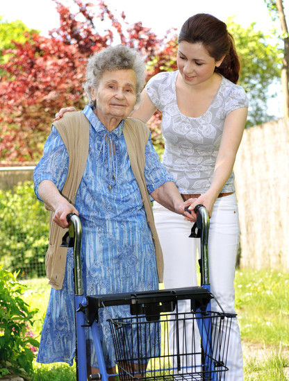 bigstock-Senior-Woman-With-A-Walker-5207