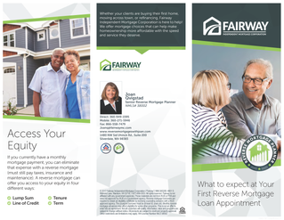 What to expect at Your First Reverse Mortgage Loan Appointment