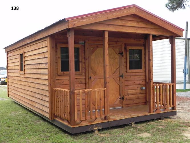 Outdoor Options-Cabin, Metal Roof