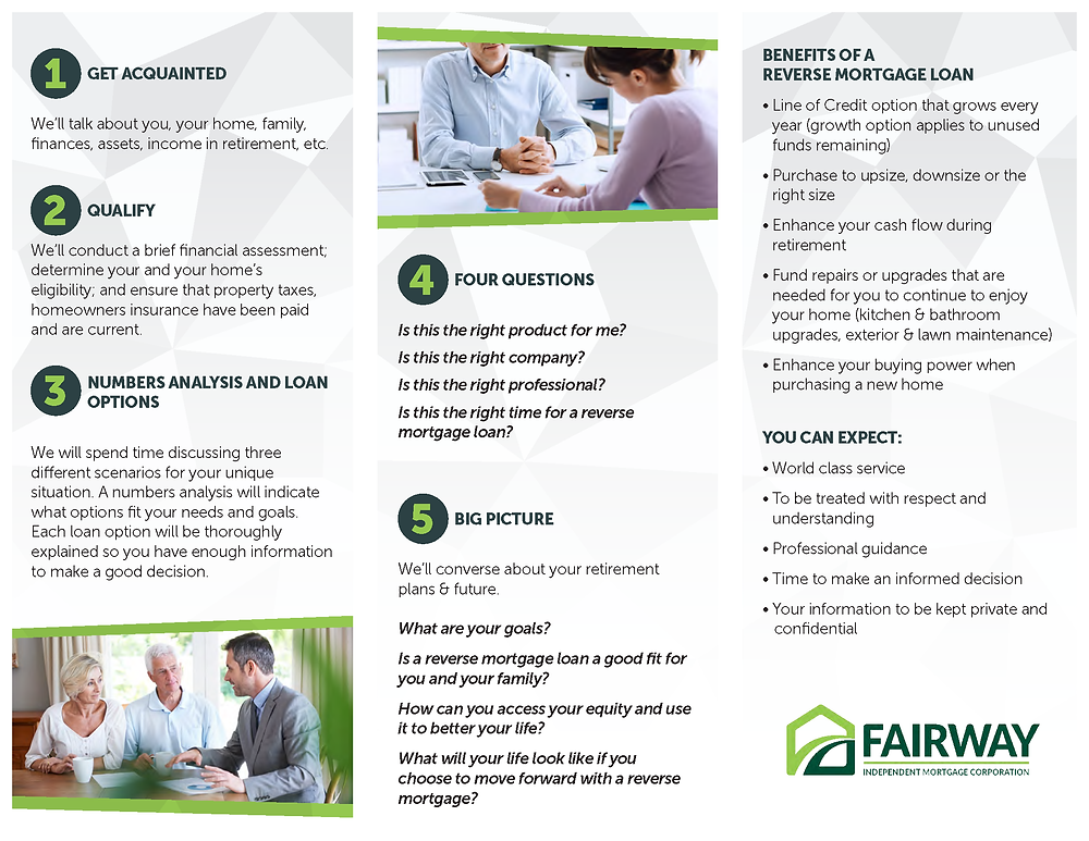 What to expect at Your First Reverse Mortgage Loan Appointment Pg 2