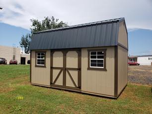 Outdoor Options- Utility Shed, Metal Roo