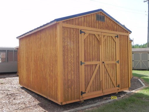 Utility Shed- Metal Roof, Urethane Siding