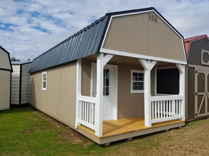 Lofted Cabin with 4' porch