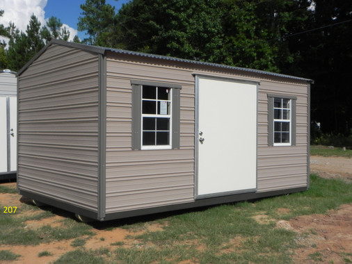 Aluminum- Garden Shed, Extra Wide Door