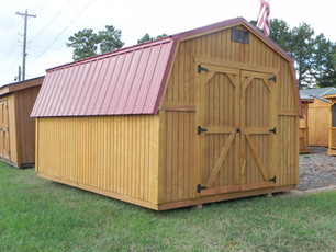 Mini Barn with Urethane Siding and a Met
