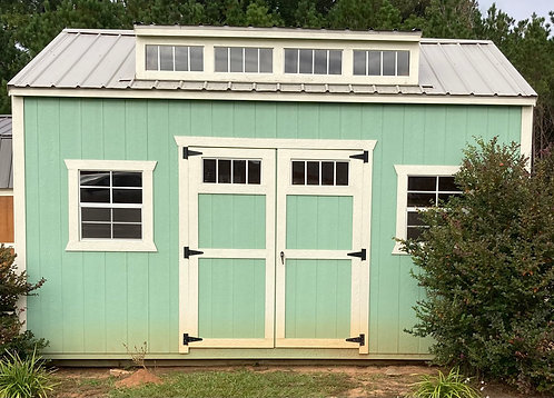 Garden Shed with Dormer