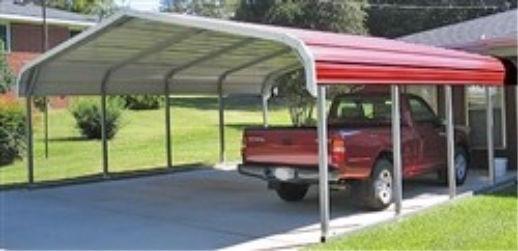 Outdoor Options- Double Carport- Carport
