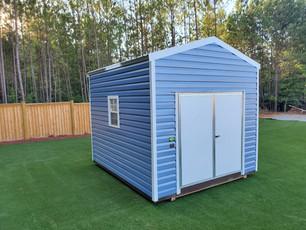 Lark 3 10' X 10' Garden shed with Metal lap siding-