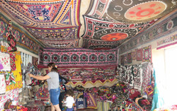 Suzani Embroidery, Central Asia
