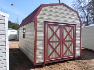 Lofted Barn with Metal Siding, Metal Roof