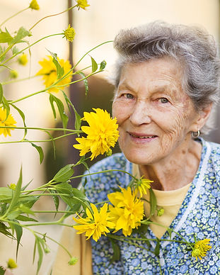 bigstock-Senior-woman-in-garden-72496837