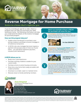 Reverse Mortgage for Purchase