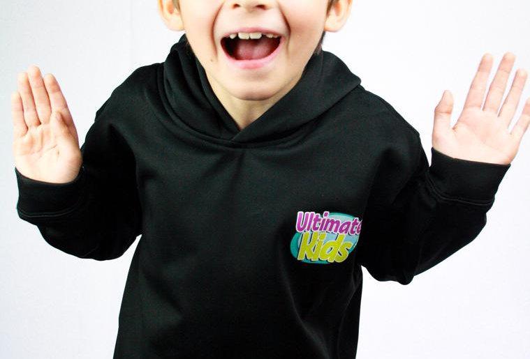 BLACK- Ultimate Kids Hoodie