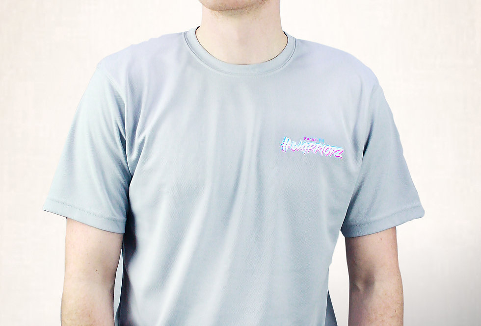 GREY- #WARRIORZ T-Shirt