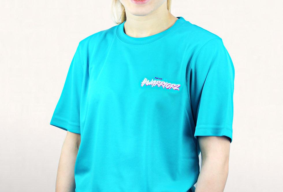 TURQUOISE- #WARRIORZ T-Shirt