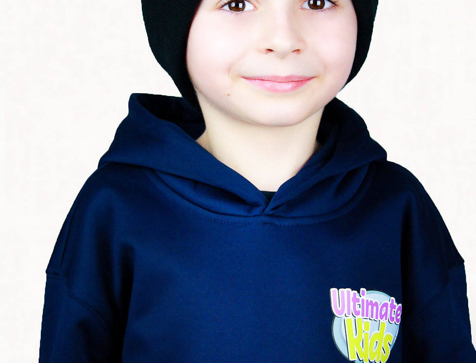 BLACK- Ultimate Kids Beanie