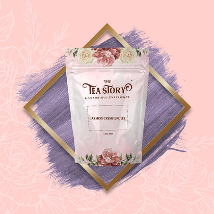Jasmine Creme Brulee Tea Pouch Collection