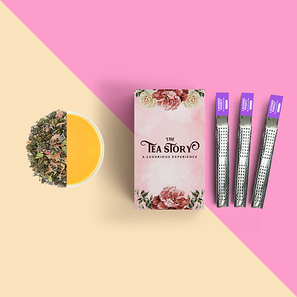 Lavender Parfait Tea Wands Collection