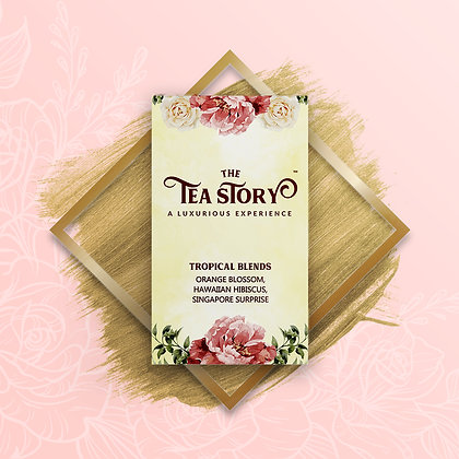 Tropical Blends Assorted Tea Box Collection