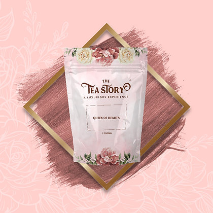 Queen of Hearts Tea Pouch Collection