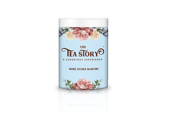 Rose Lychee Martini Loose Leaf Tea Collection