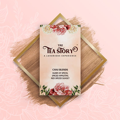 Chai Blends Assorted Tea Box Collection