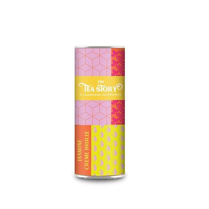 Jasmine Creme Brulee Tea Tube Collection
