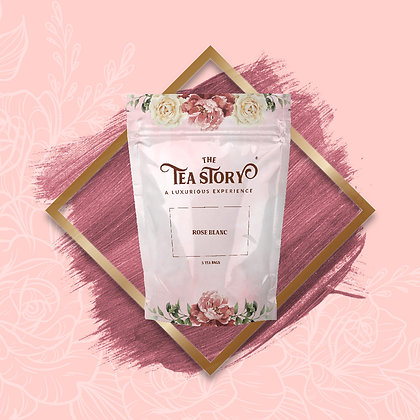 Rose Blanc Tea Pouch Collection