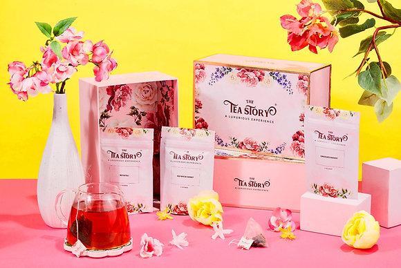 Luxury Gift Set of 3 Tea Pouches