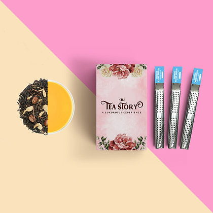 Jasmine Creme Brulee Tea Wands Collection