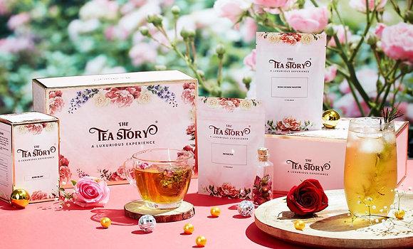 Luxury Gift Set of 3 Single Tea Boxes