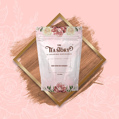 Red Spiced Sunset Tea Pouch Collection