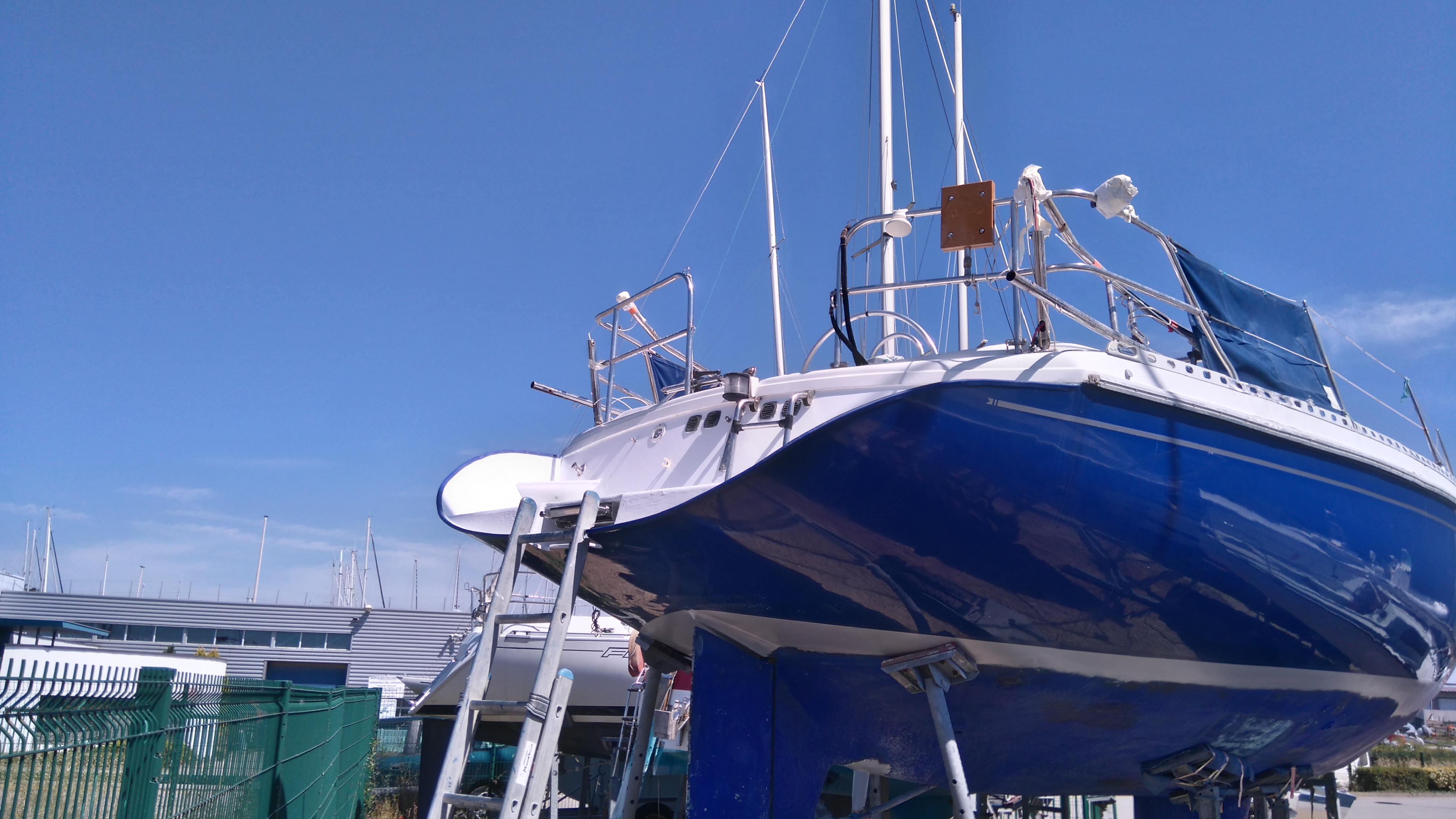 Fabrication jupe  sur Gib Sea 114