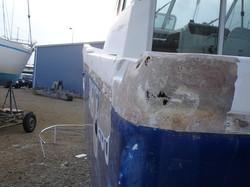 réparation coque marine arzon