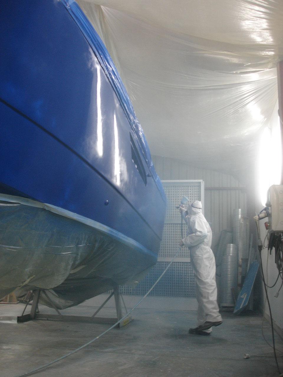 peinture de coque Antares 605